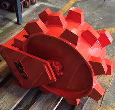 2.6 3.8T 300mm Wide Compaction Wheel (1)